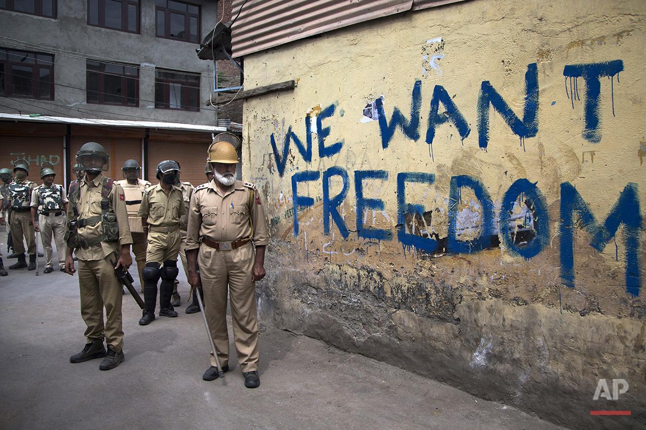 India Kashmir Protests