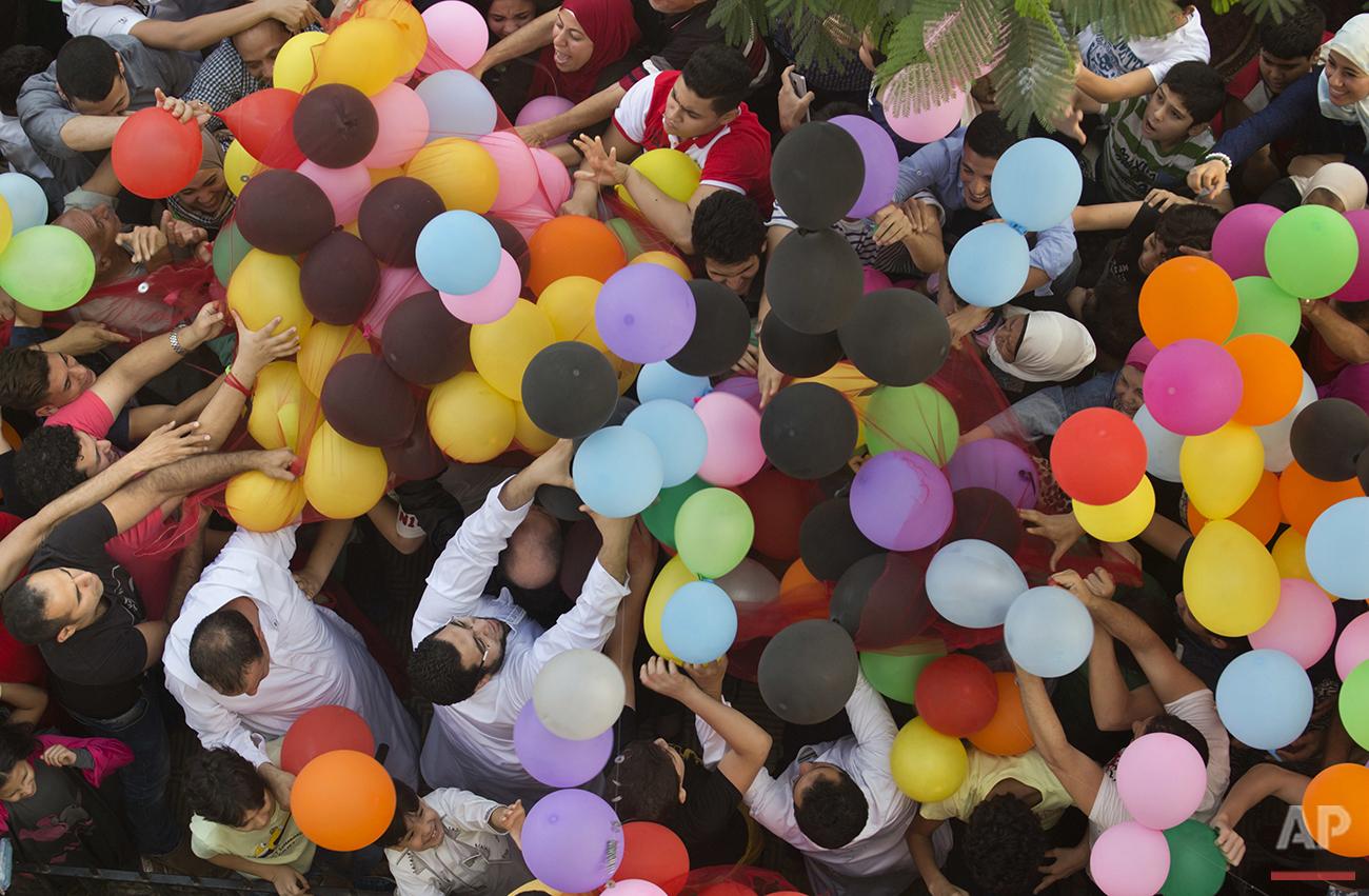 Mideast Egypt Eid Al Fitr