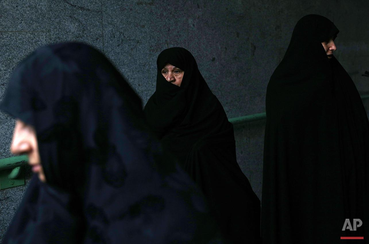 Mideast Iran Eid Al-Fitr
