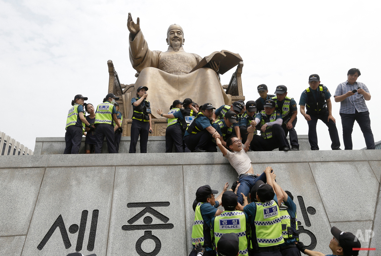 South Korea Protest