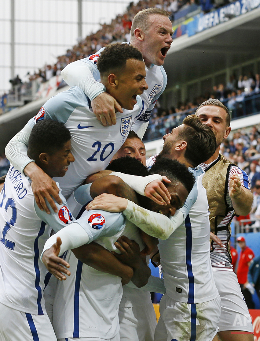 Soccer Euro 2016 England Wales