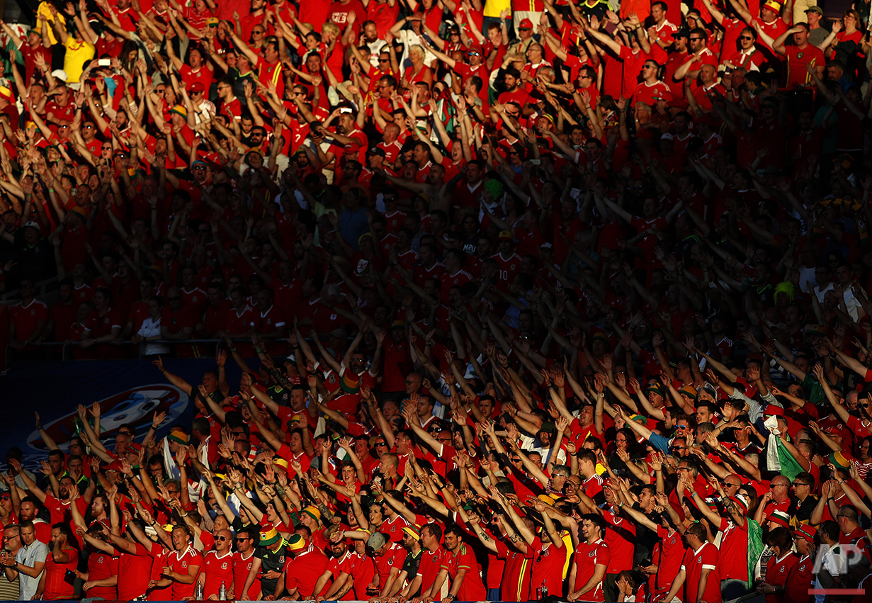 Soccer Euro 2016 Russia Wales