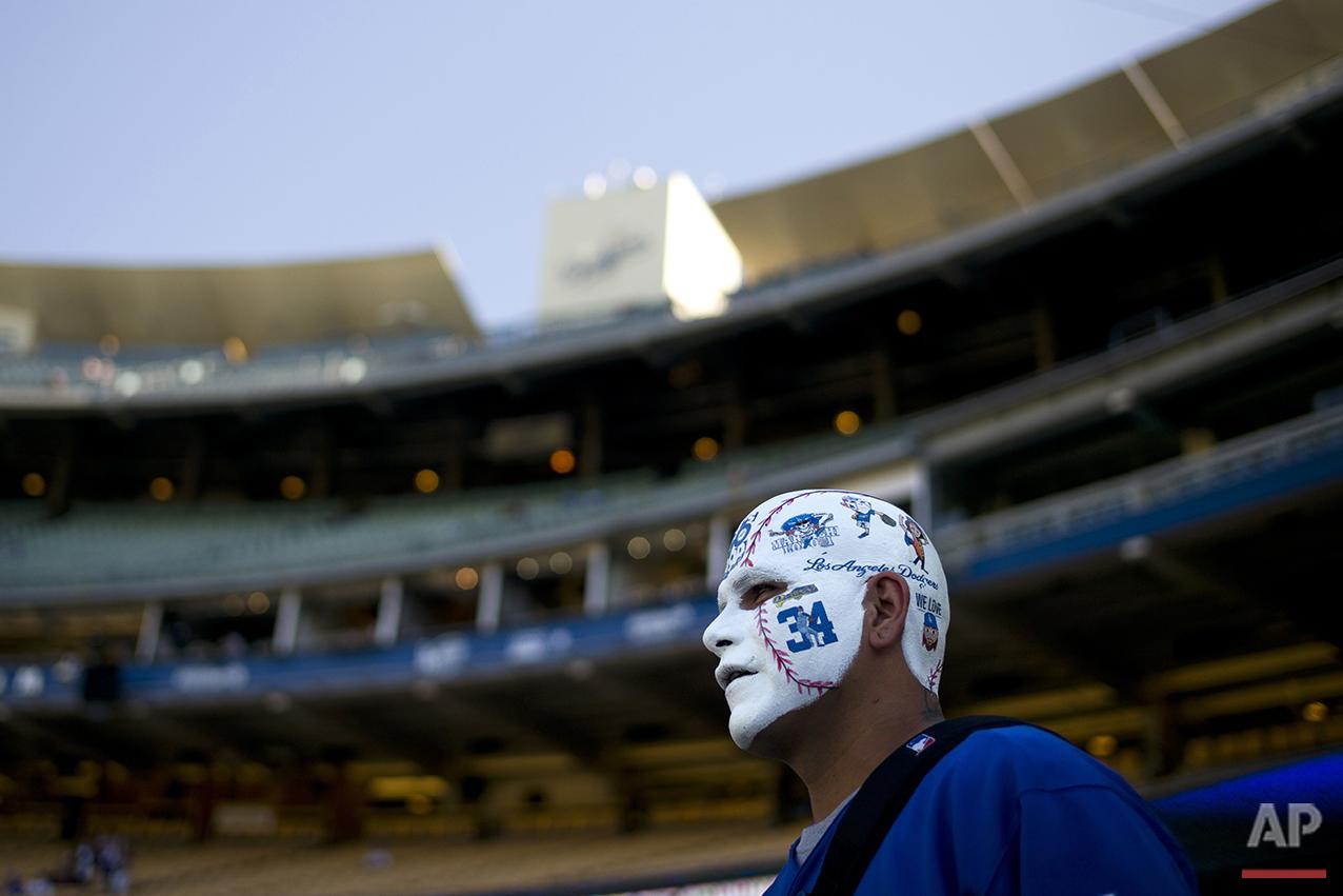 Brewers Dodgers Baseball