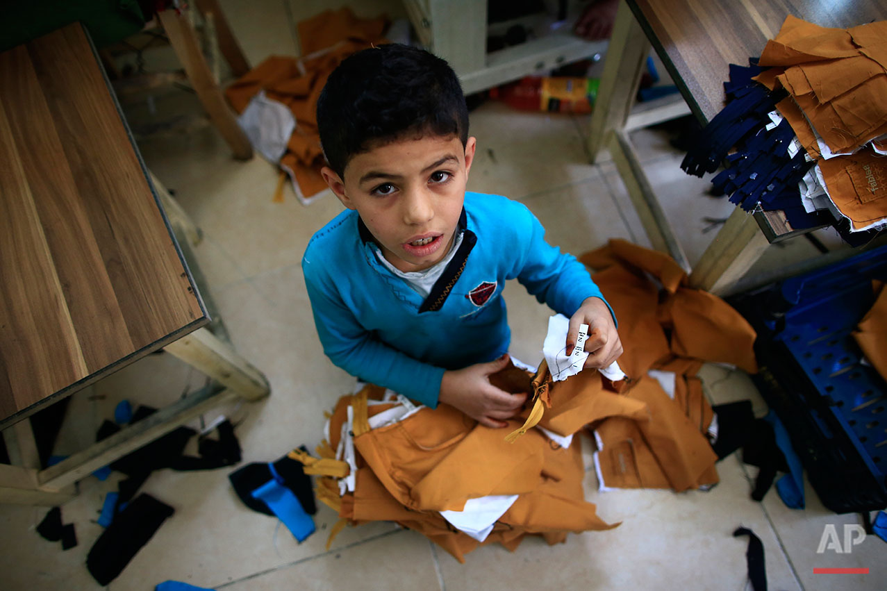 Turkey Syria Child Labour Photo Gallery