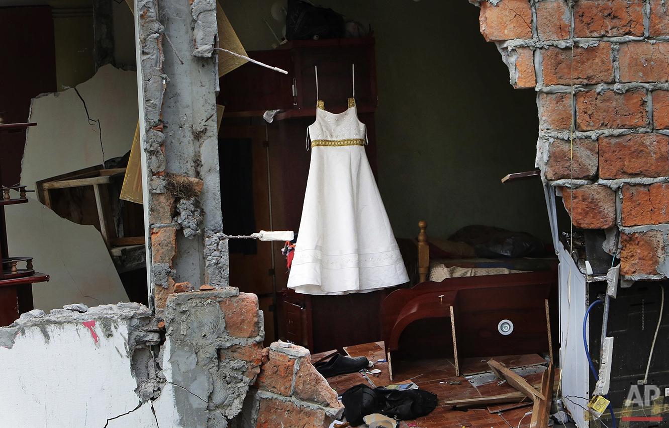 APTOPIX Ecuador Earthquake Photo Gallery