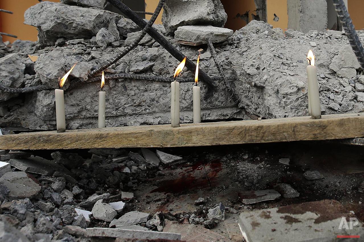 Ecuador Earthquake Photo Gallery