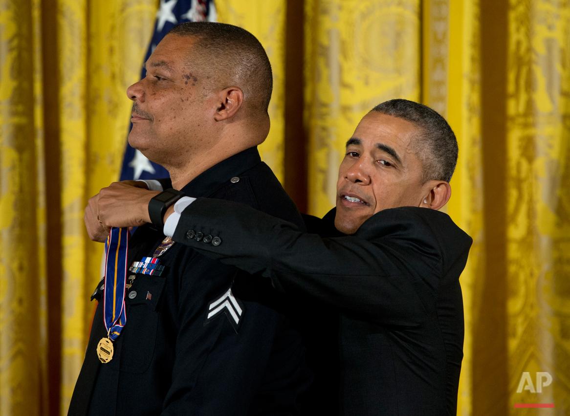 Obama Medal of Valor