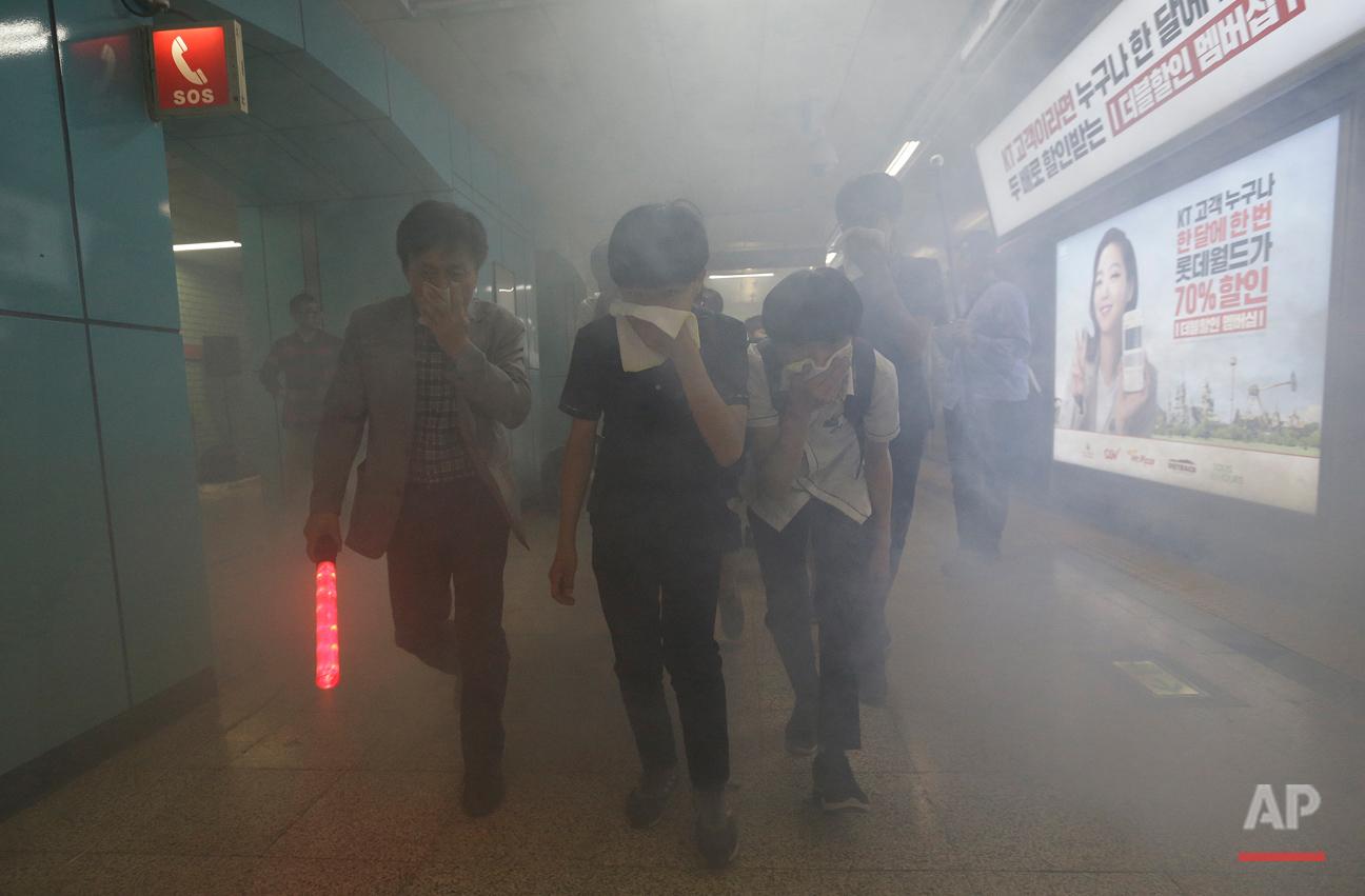 South Korea Disaster Prevention Drill
