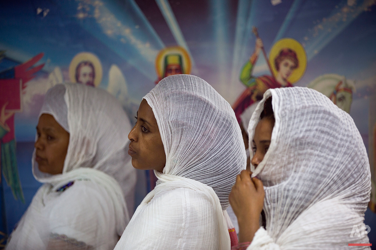 Mideast Israel Eritrean Churches Photo Essay