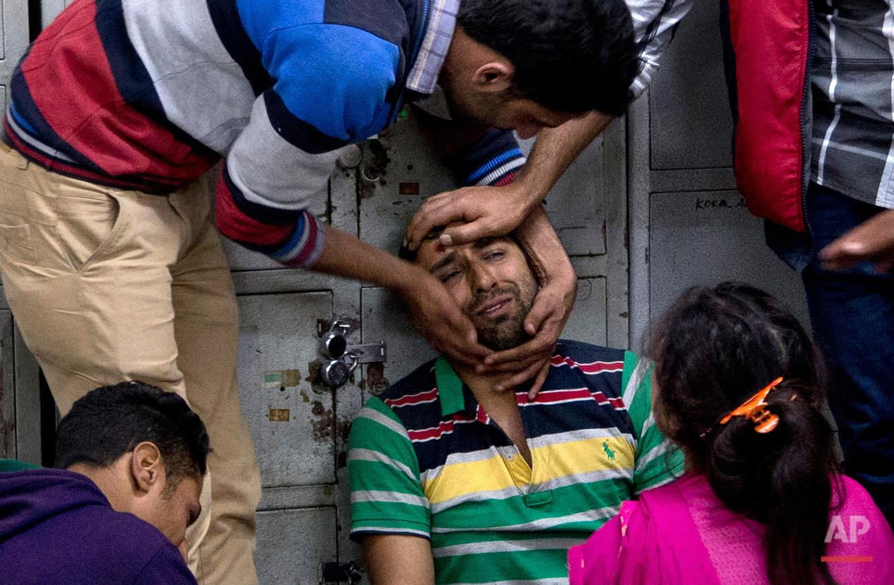 India Kashmir Shooting