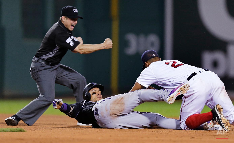 Rockies Red Sox Baseball
