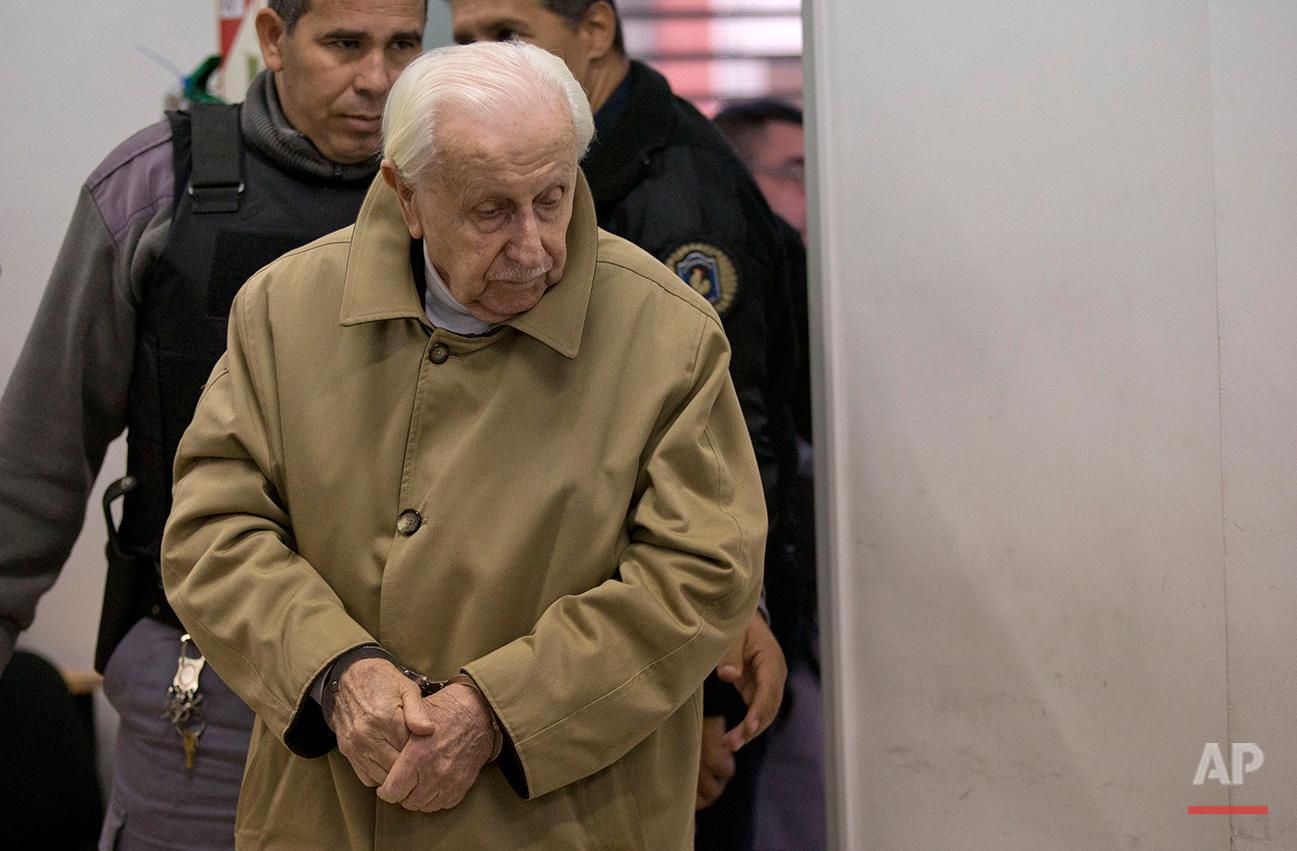 APTOPIX Argentina Dirty War Trial