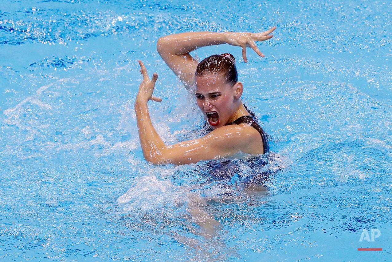 APTOPIX Britain European Aquatics Championships
