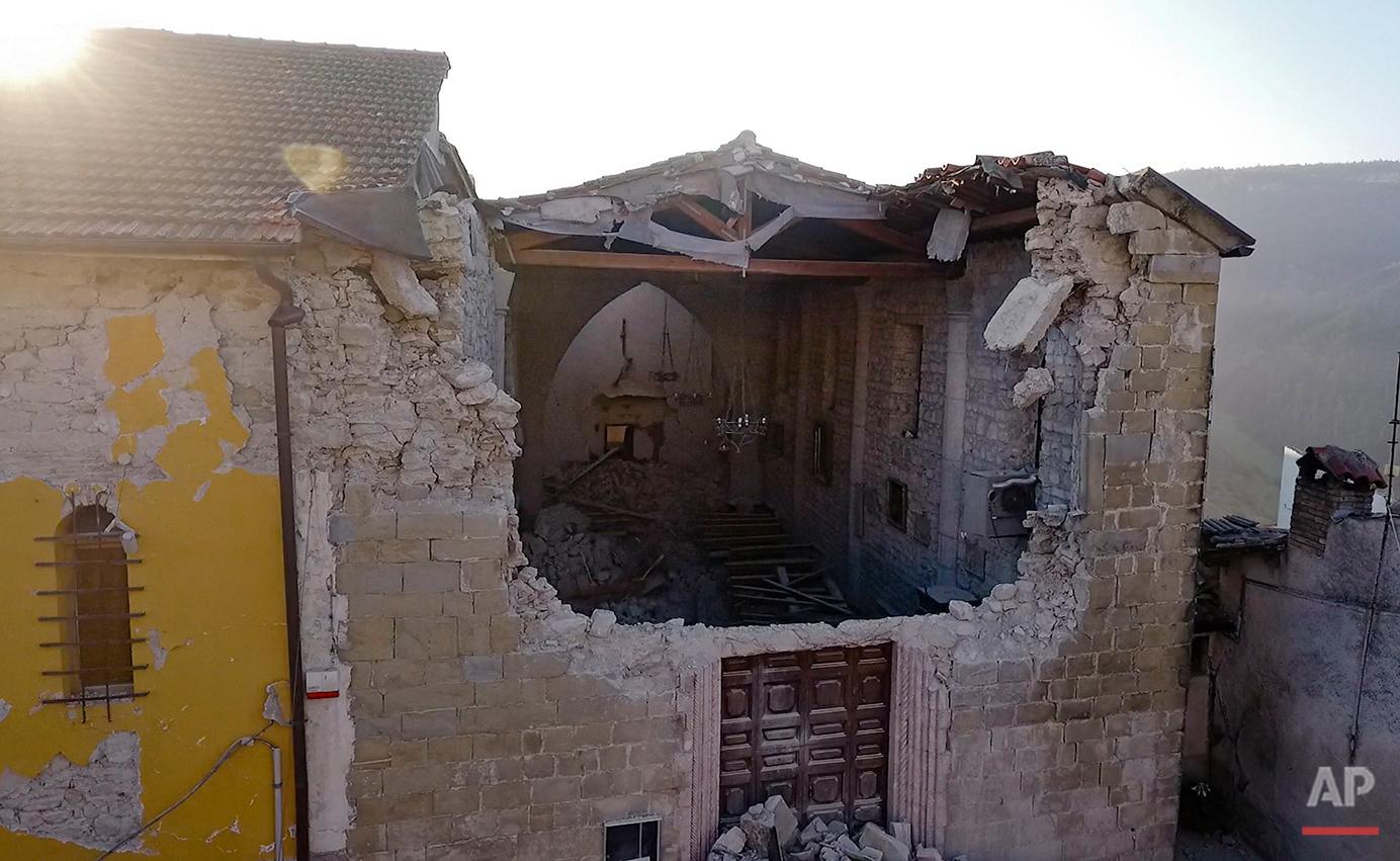 Quake in Italy