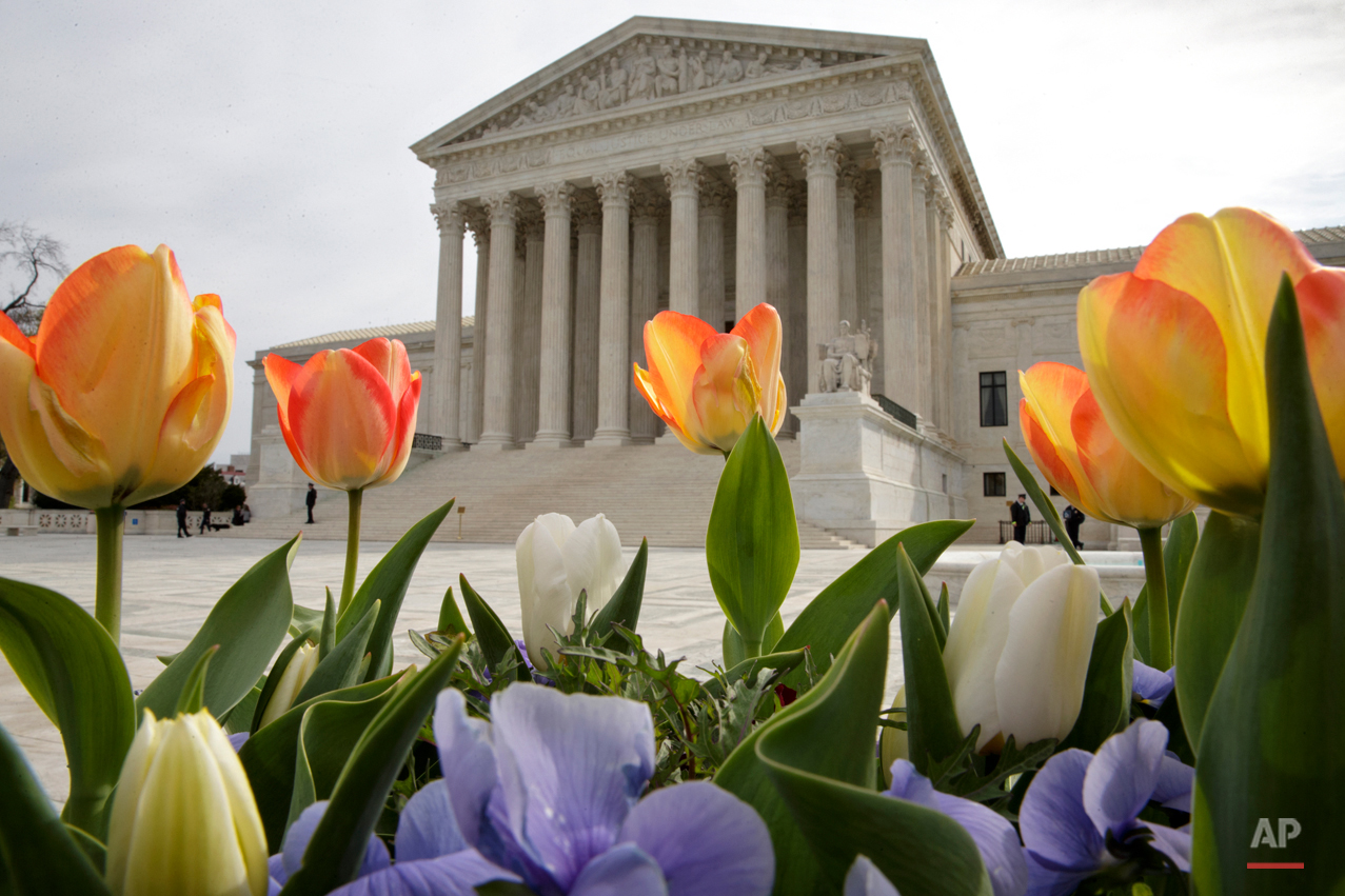 APTOPIX Supreme Court Voting Rights