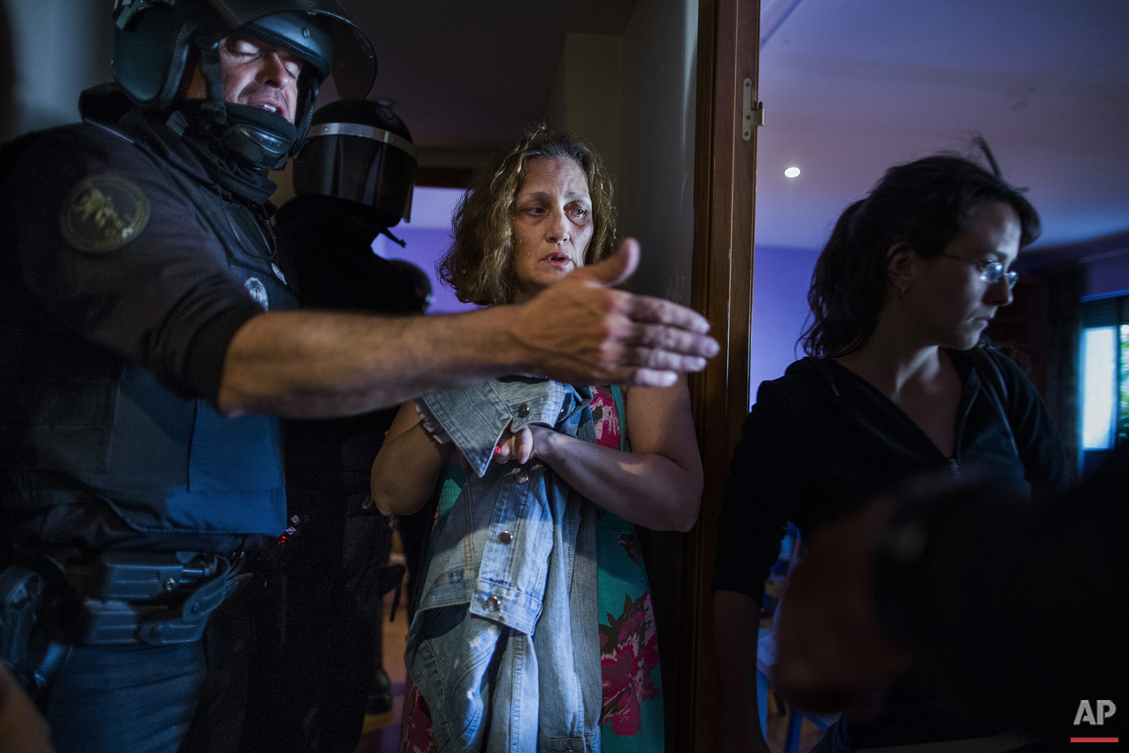 Spain Evictions