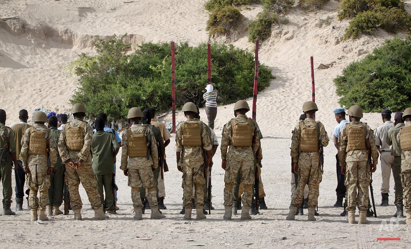 Somalia Execution
