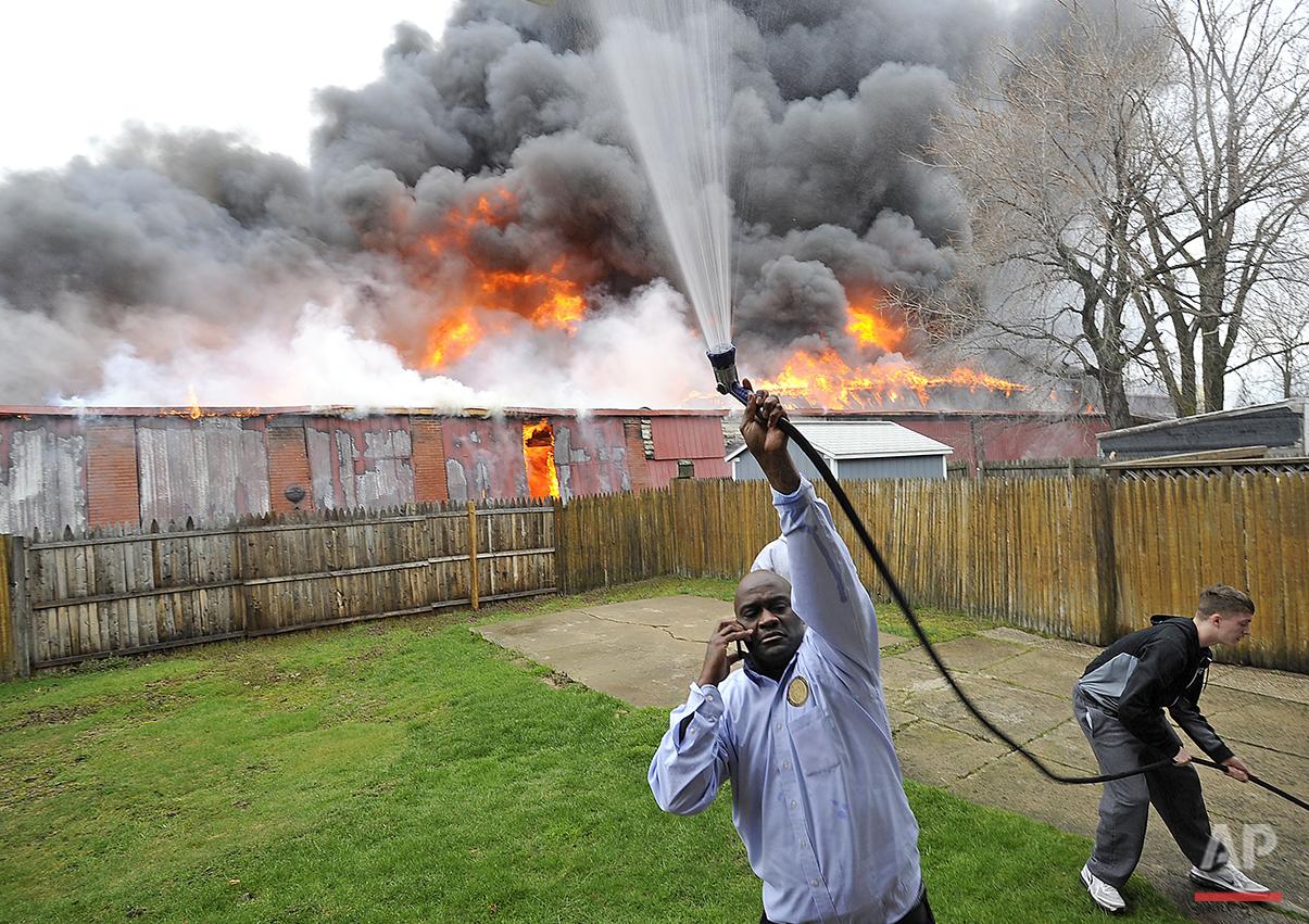 PA. Warehouse Fire