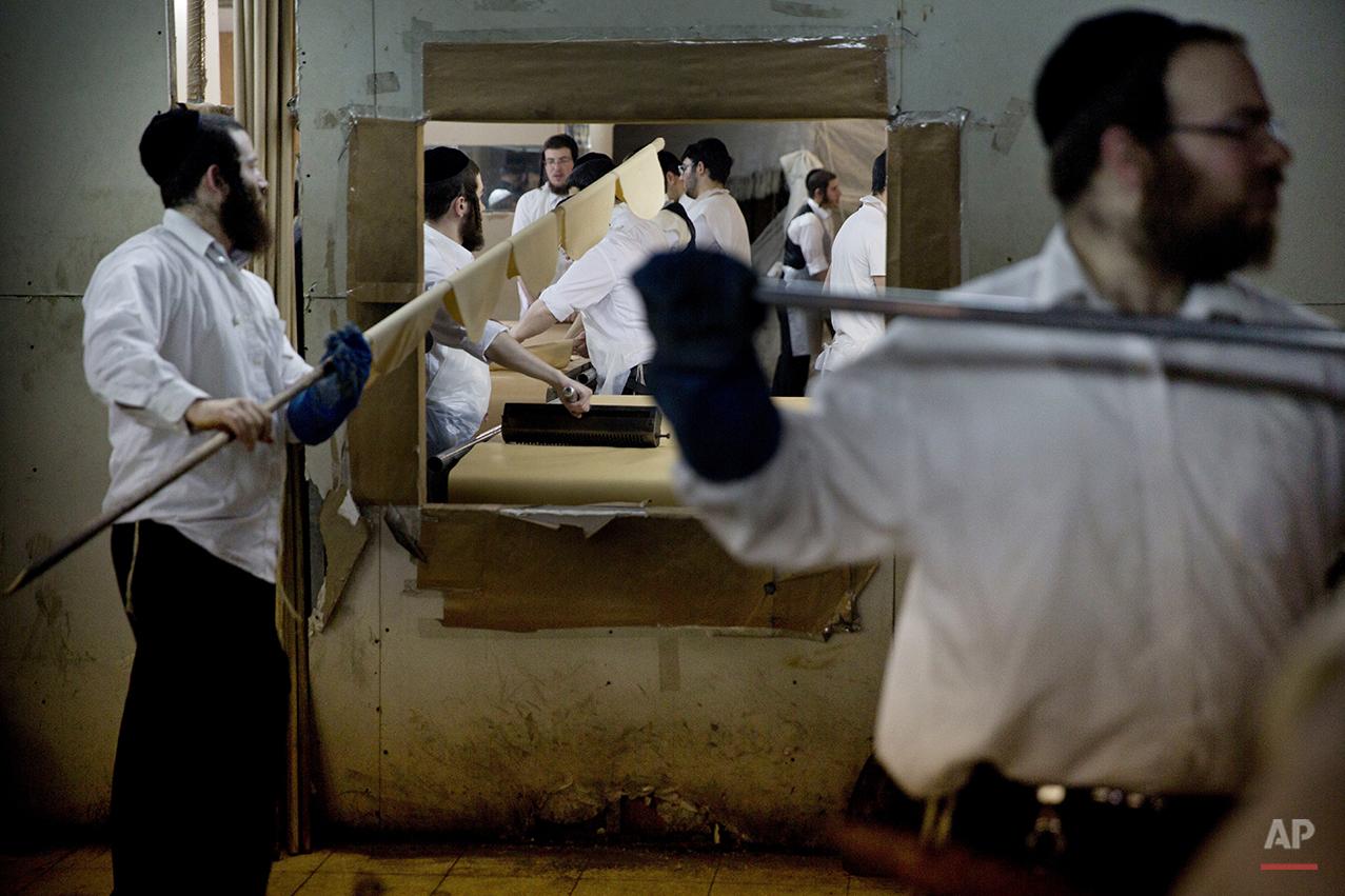 Mideast Israel Passover