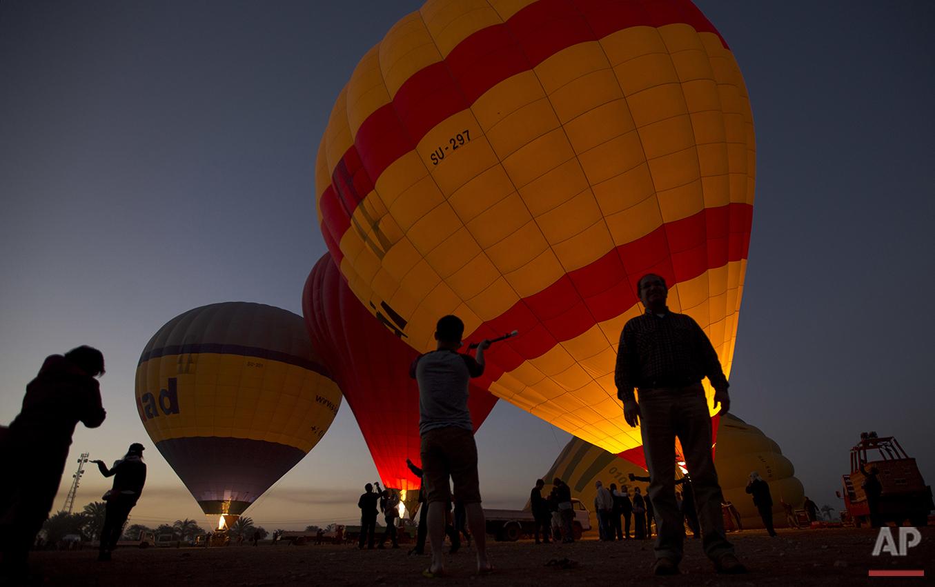 APTOPIX Travel Egypt Luxor Ballooning