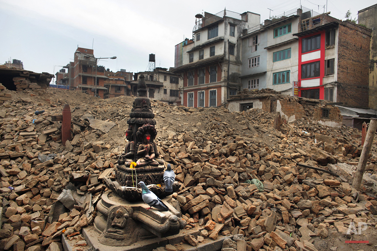 Nepal Earthquake Then and Now