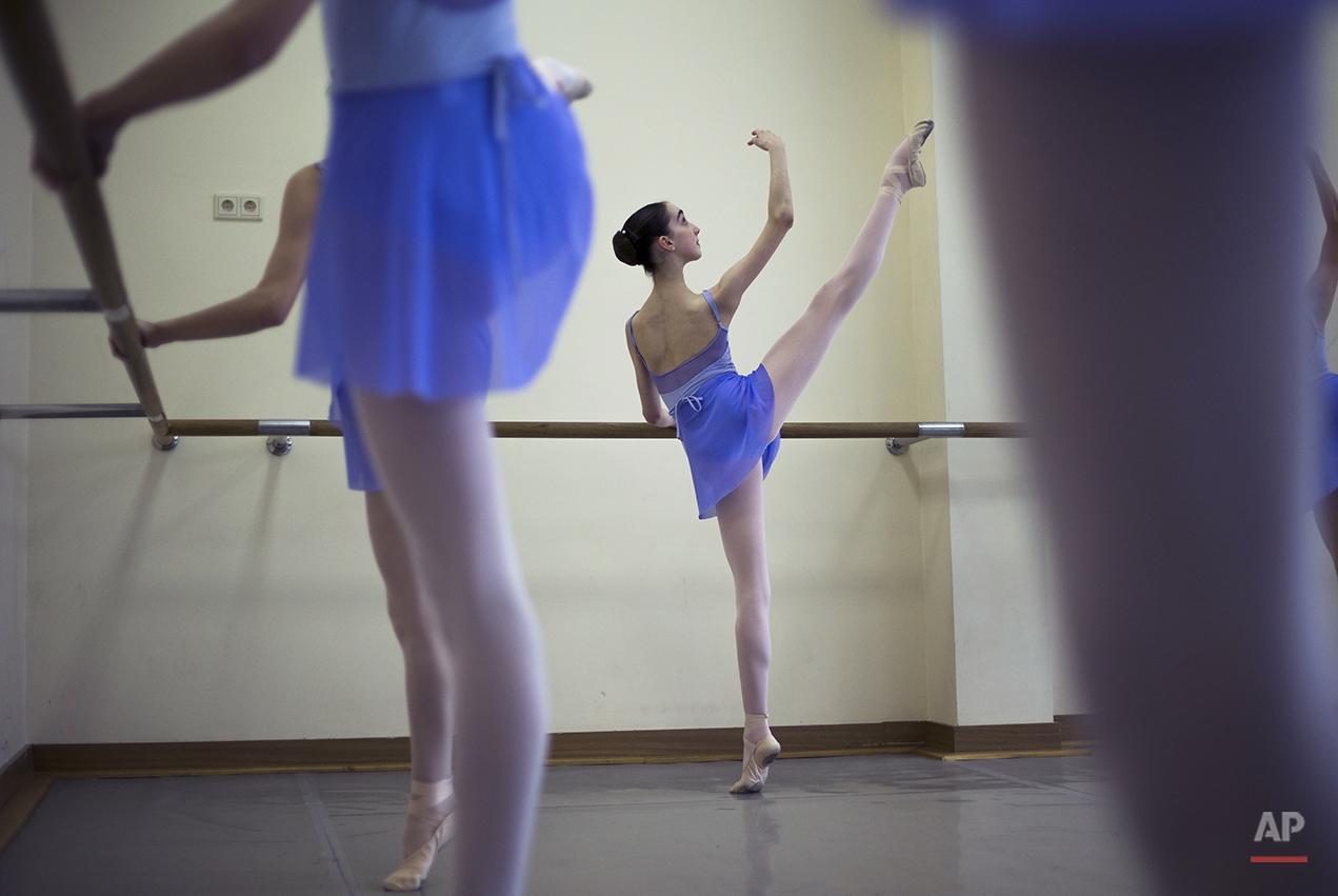 APTOPIX Russia Ballet School