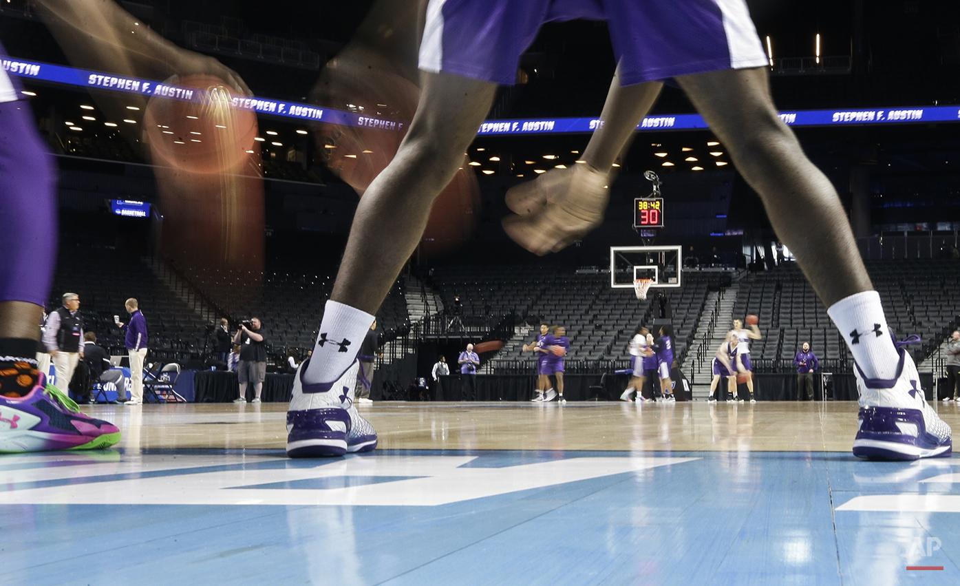 NCAA Stephen F Austin Basketball