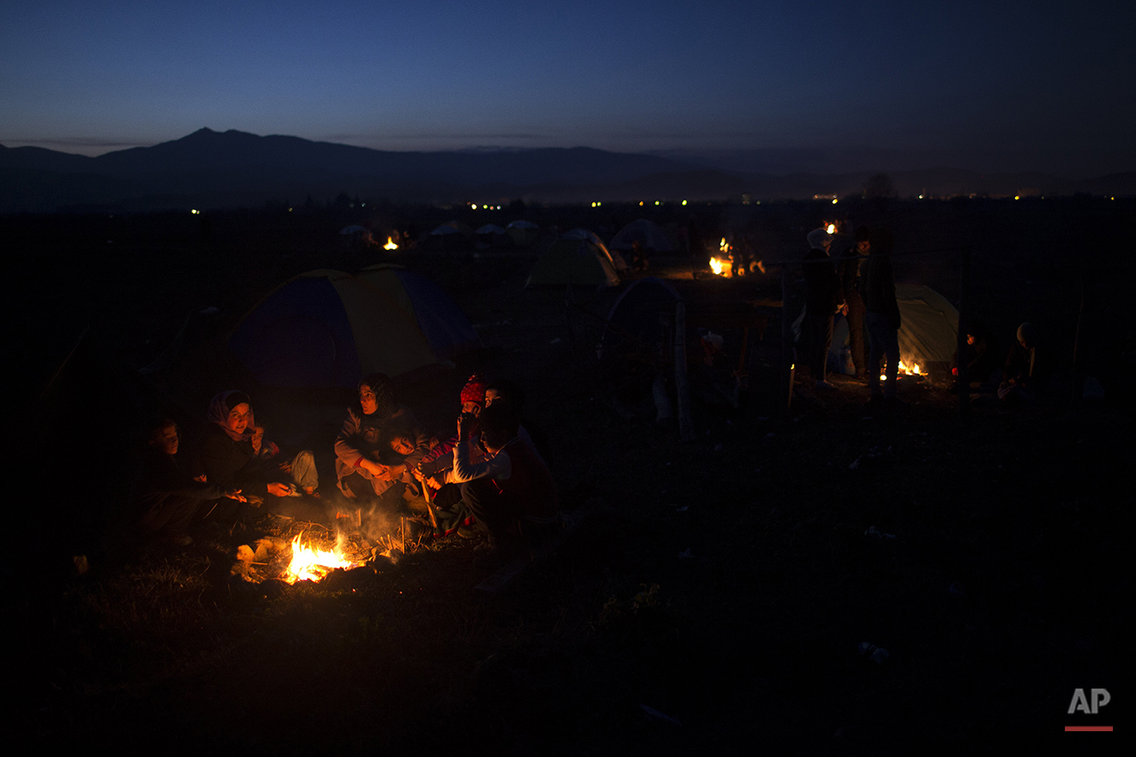 Greece Hopeless On The Border Photo Essay
