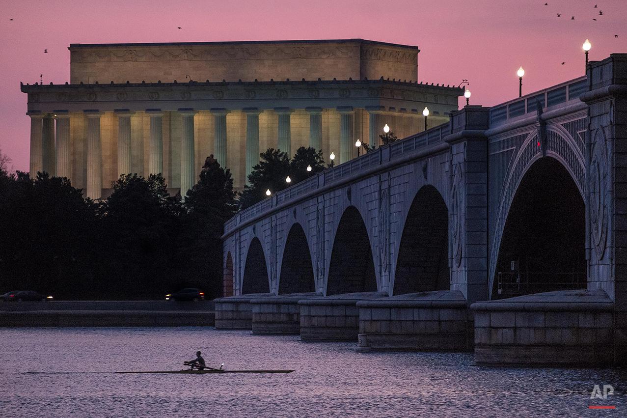 APTOPIX Washington Daily Life