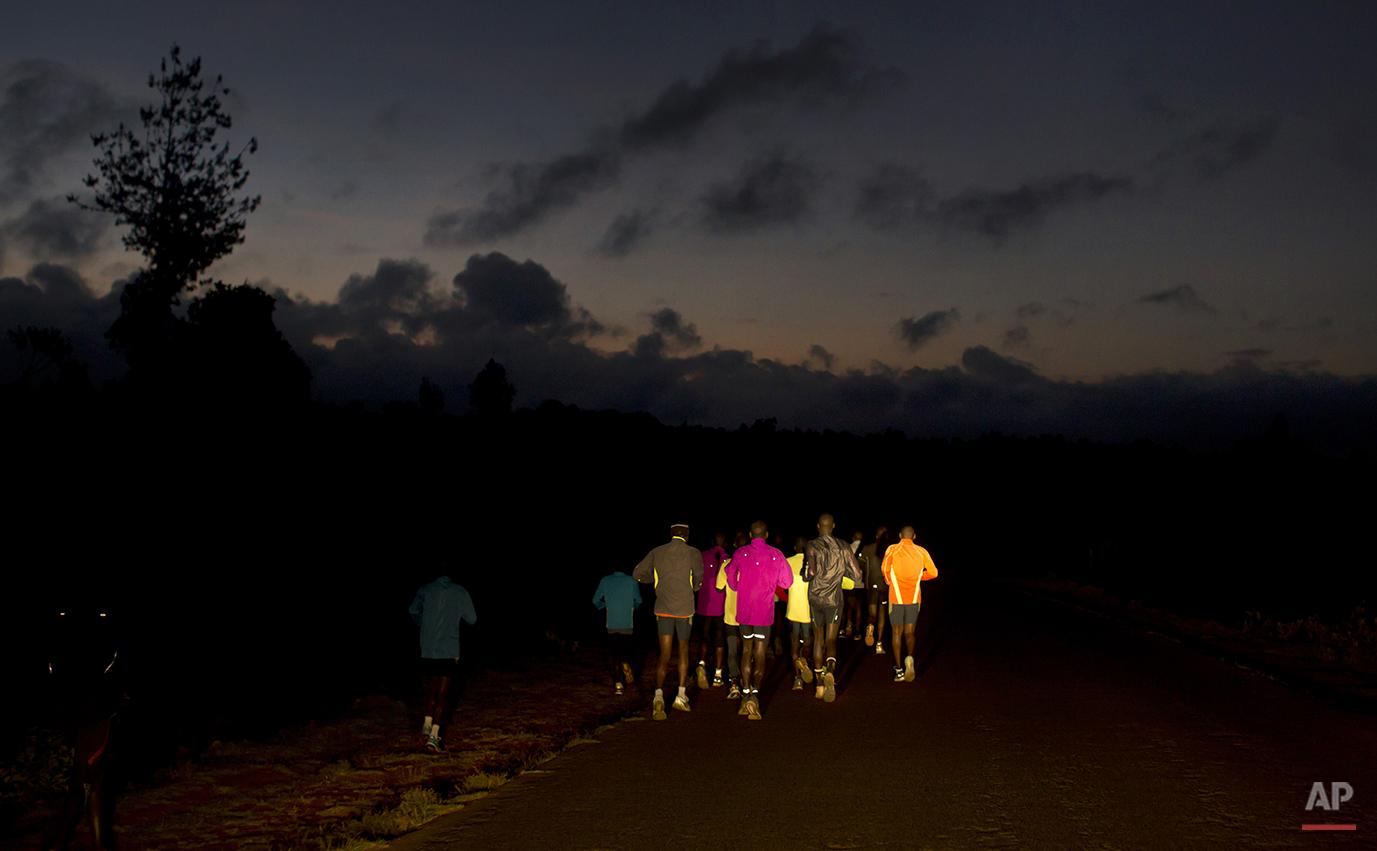 Kenya Runners Training Camp