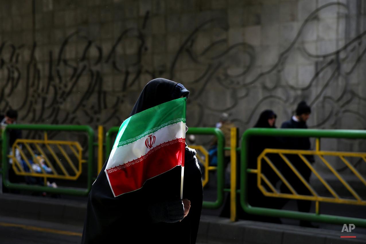 Mideast Iran Islamic Revolution Anniversary