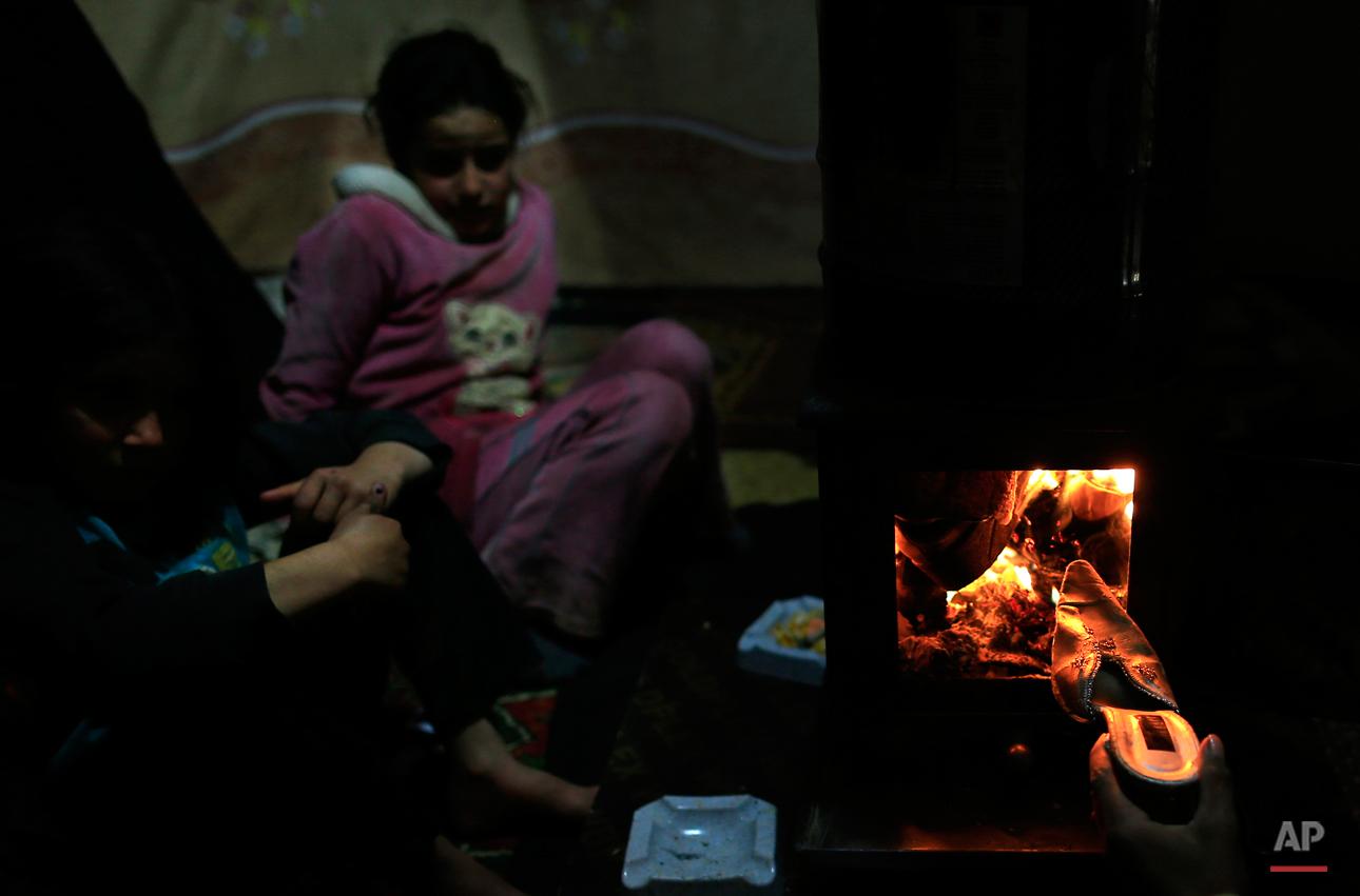 APTOPIX Mideast Lebanon Syrian Refugees