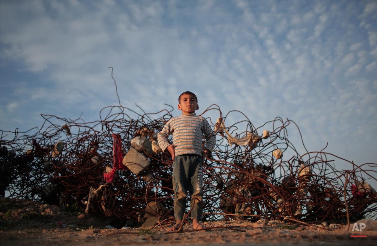 APTOPIX Mideast Palestinian Daily Life