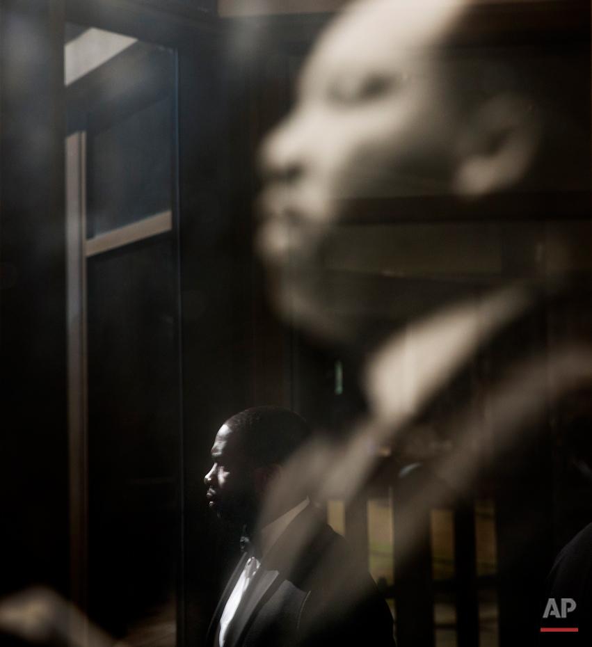 APTOPIX MLK Day Atlanta