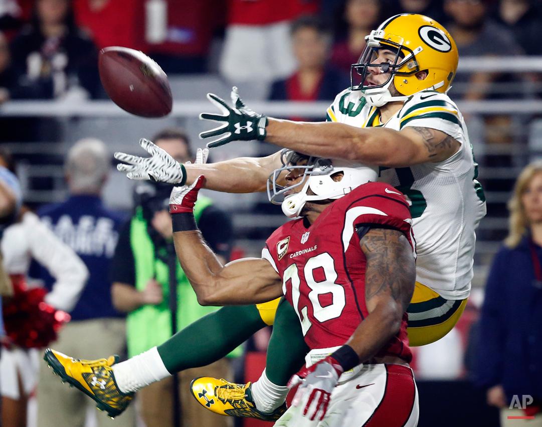 APTOPIX Packers Cardinals Football