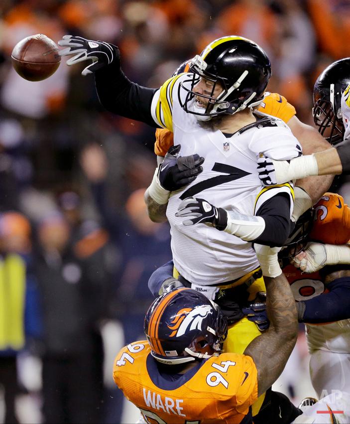 APTOPIX Steelers Broncos Football