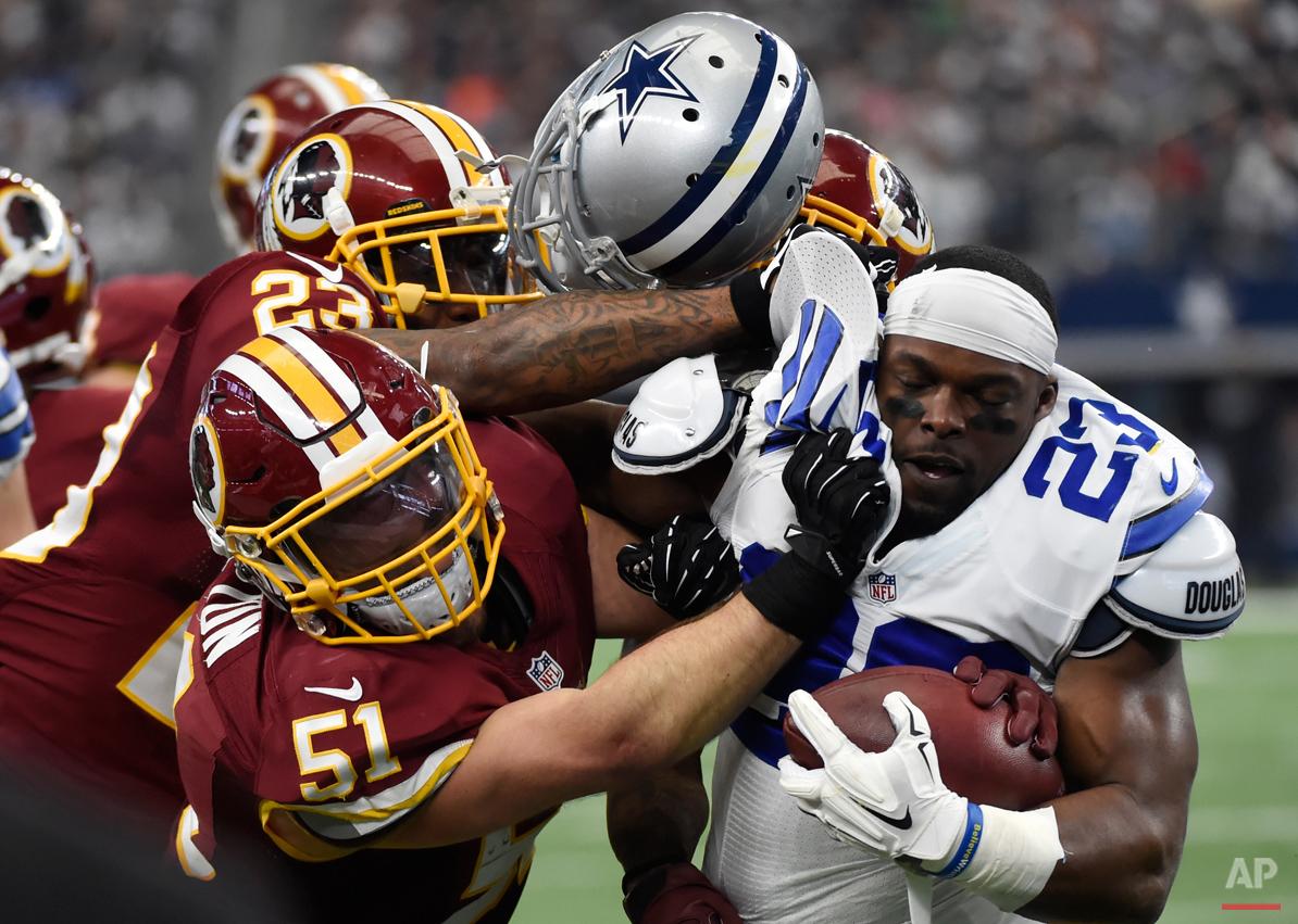 APTOPIX Redskins Cowboys Football