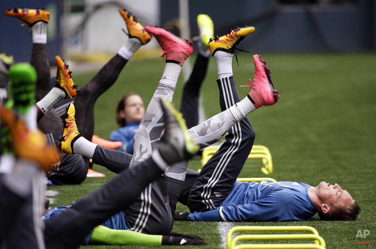 Sounders Champions League Soccer