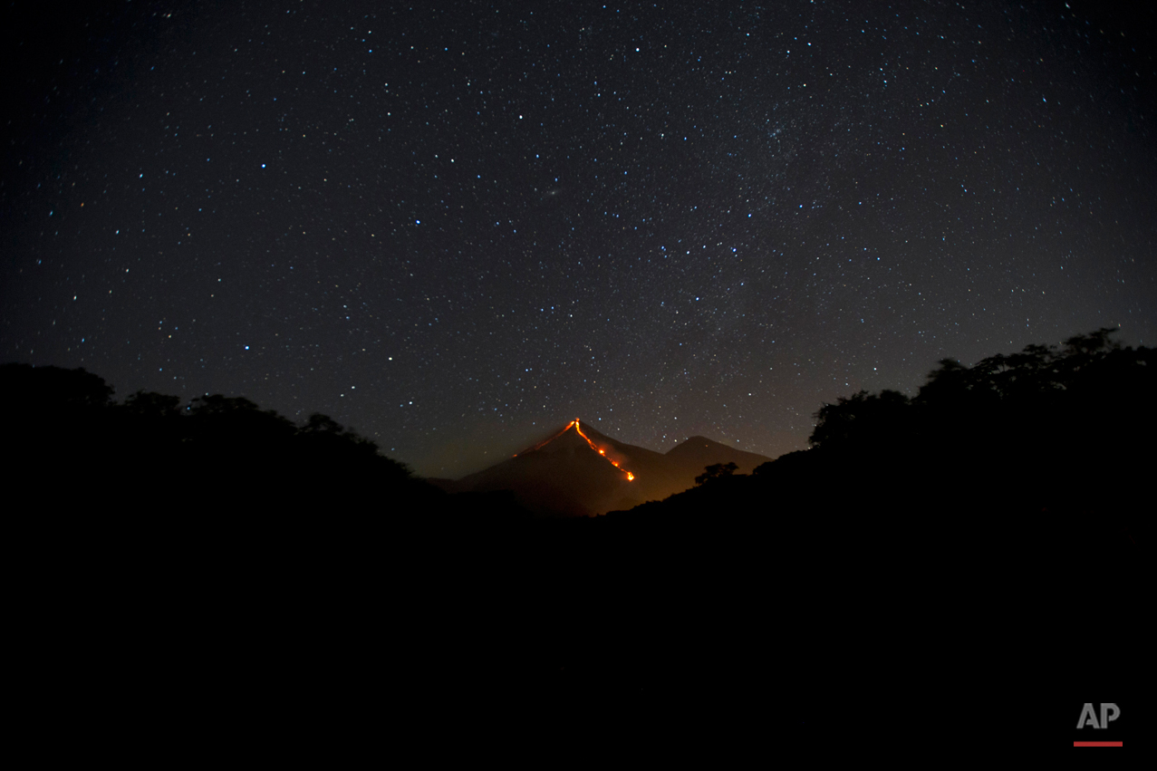 Guatemala Volcano Erupts