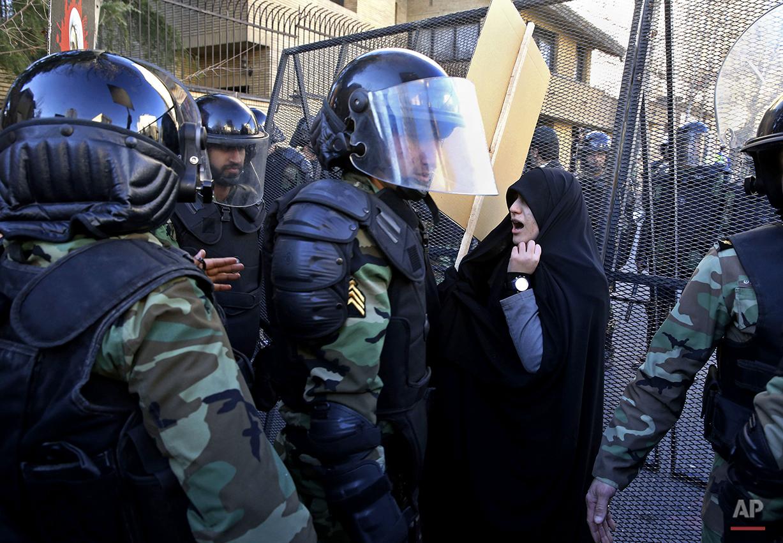 Mideast Iran Saudi Arabia