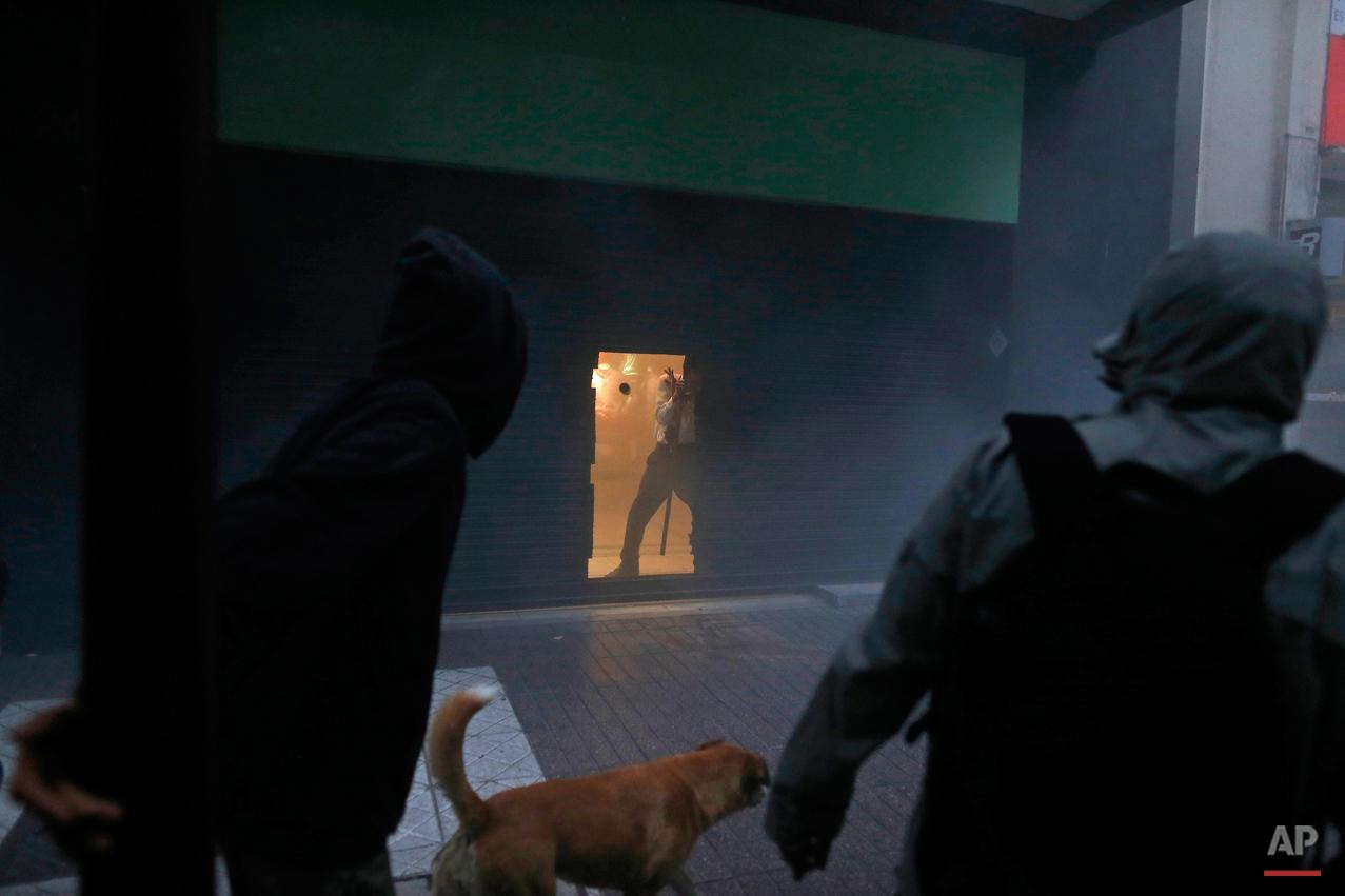 Chile Mapuche Protest