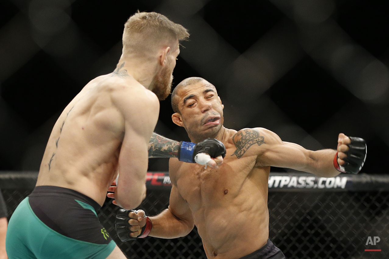 APTOPIX UFC 194 Mixed Martial Arts