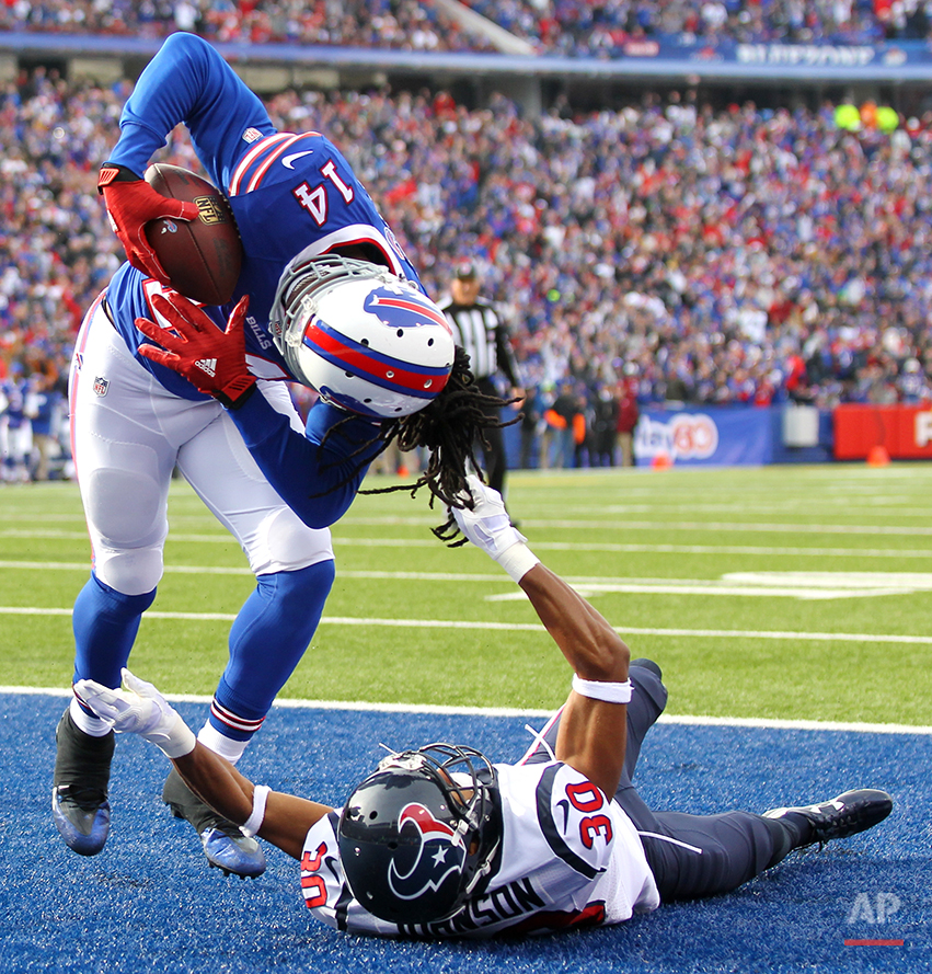 APTOPIX Texans Bills Football
