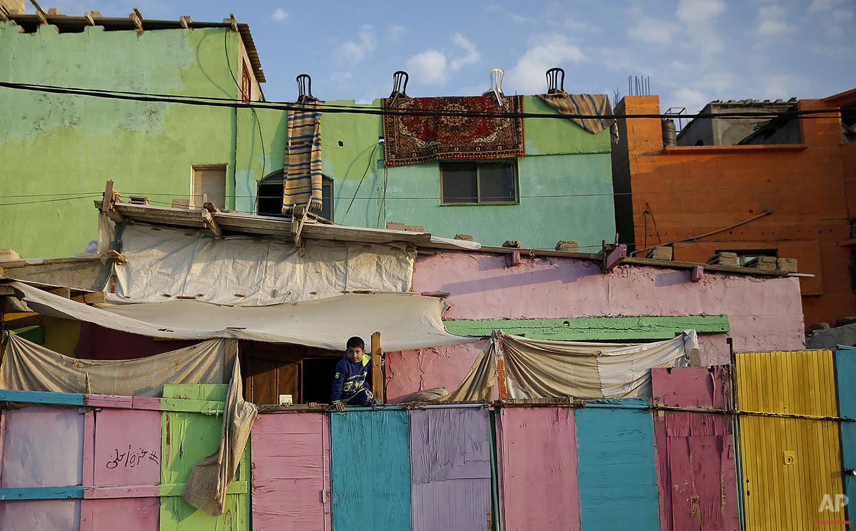 APTOPIX Mideast Colorful Gaza Photo Gallery
