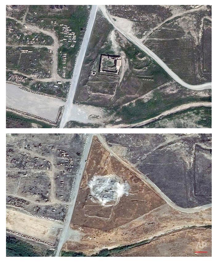 Iraq Monastery Destroyed