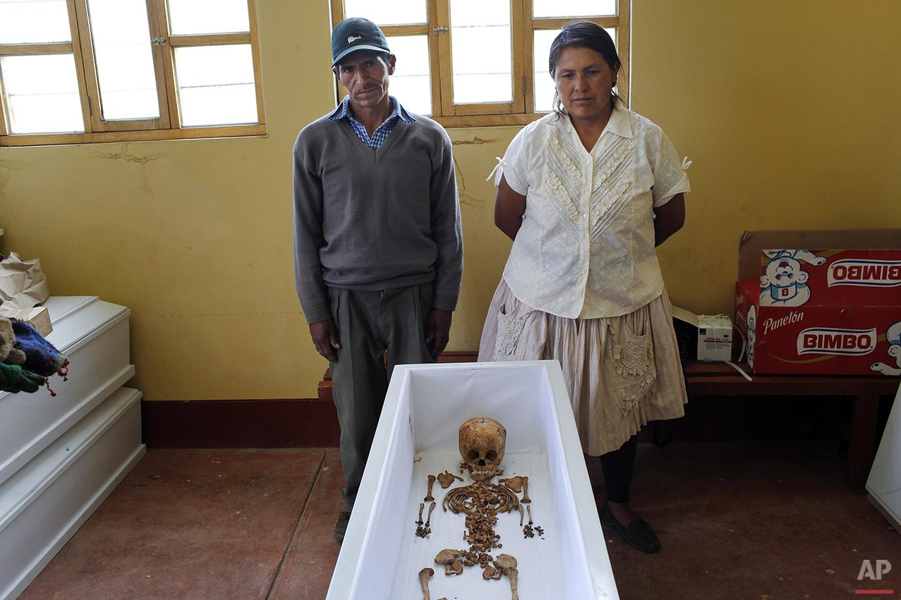 APTOPIX Peru Dirty War Photo Gallery