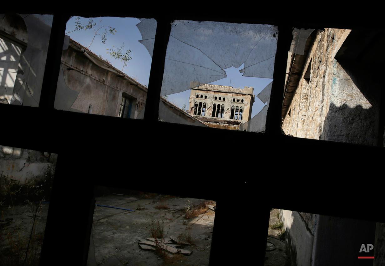 Greece Abantoned Wealth