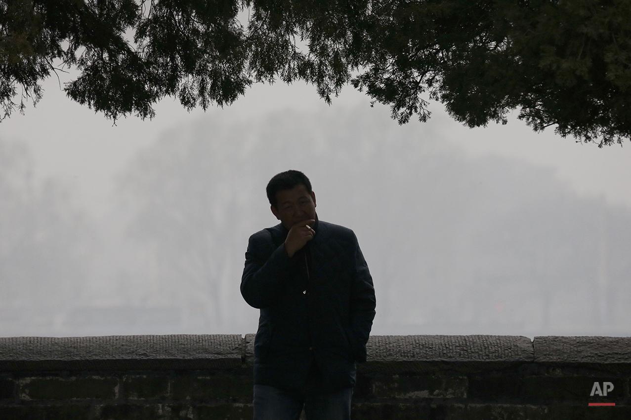 China Smog Alerts