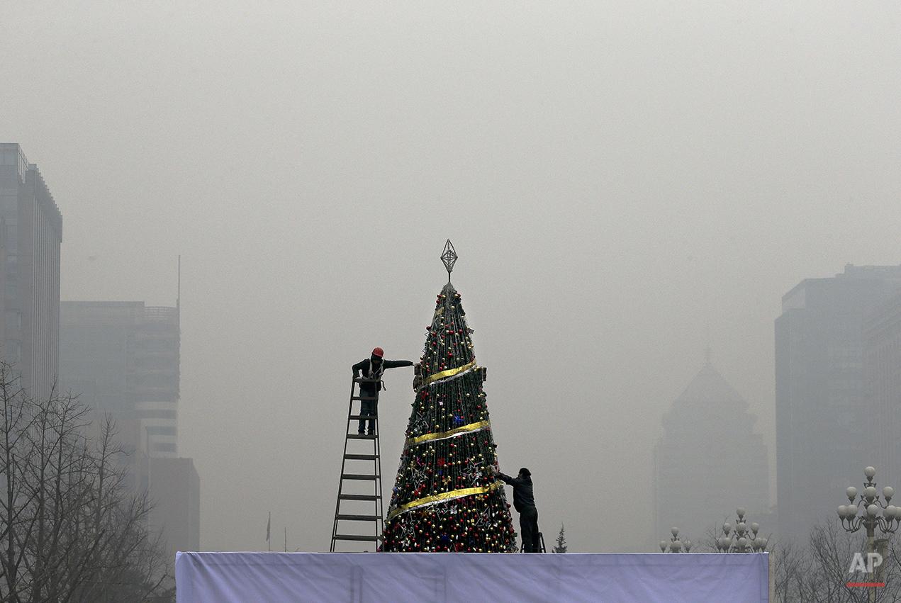 China Smog Alert