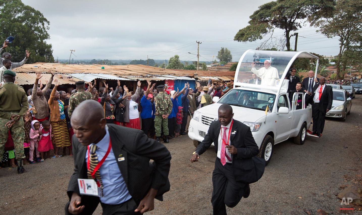 APTOPIX Kenya Africa Pope